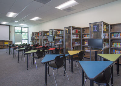Rivera School Projects – Library Remodel